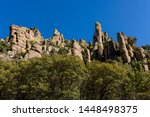 organ pipe formation at...   Shutterstock . vector #1448498375