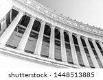 architectural detail of columns ...   Shutterstock . vector #1448513885