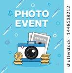 shopping photo  pop up event... | Shutterstock .eps vector #1448538212