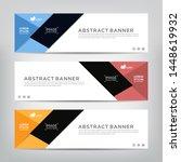 modern design  web banner... | Shutterstock .eps vector #1448619932