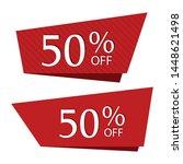 special sale discount sticker... | Shutterstock .eps vector #1448621498