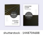 modern cover design template... | Shutterstock .eps vector #1448704688