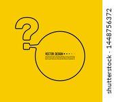 question mark icon. help symbol....   Shutterstock .eps vector #1448756372