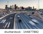 Rush Hour Traffic On I 25...