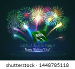 happy national day of kingdom... | Shutterstock .eps vector #1448785118