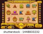 egypt style casino slot machine ...