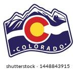Colorado Emblem Flag With Aspen ...