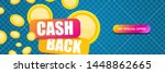 vector cash back icon with...   Shutterstock .eps vector #1448862665