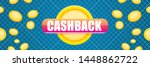 vector cash back icon with...   Shutterstock .eps vector #1448862722