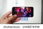 los angeles  california  usa  ... | Shutterstock . vector #1448876948