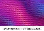 liquid wave violet color.... | Shutterstock .eps vector #1448938205