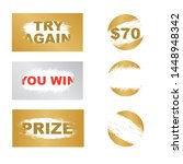 letters scratch and win....   Shutterstock .eps vector #1448948342