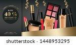 cosmetics set vector realistic. ... | Shutterstock .eps vector #1448953295