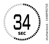 the 34 second countdown timer...