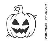 Halloween Pumpkin. Vector...