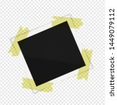 polaroid photo frame. square... | Shutterstock .eps vector #1449079112