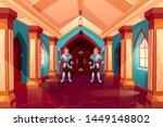 armed guards in knight armor... | Shutterstock .eps vector #1449148802