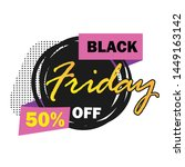 sale banner templates design....   Shutterstock .eps vector #1449163142