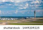 Runways and the Control Tower at Atlanta