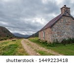 A Mountain Bothy In The...