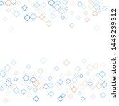 rhombus backdrop minimal... | Shutterstock .eps vector #1449239312