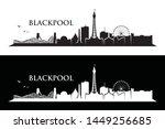 blackpool skyline   england ... | Shutterstock .eps vector #1449256685