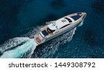 Aerial Photo Of Luxury Yacht...