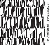 shadow letters liquid geometric ... | Shutterstock .eps vector #1449336578