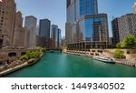 View Over Chicago River From Du ...