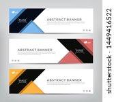 modern design  web banner... | Shutterstock .eps vector #1449416522