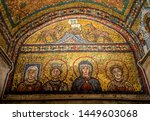 Interiors Of The Basilica Of...