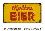 Vintage Rusty Metal Sign  ...