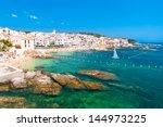 calella de palafrugell ... | Shutterstock . vector #144973225