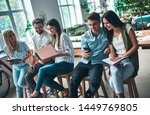 group of young business people... | Shutterstock . vector #1449769805