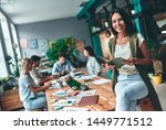 group of young business people... | Shutterstock . vector #1449771512