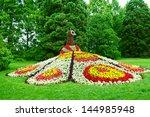 Peacock Flowerbed.