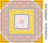 abstract silk hijab creative... | Shutterstock .eps vector #1450031102