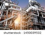 oil and gas refinery plant form ... | Shutterstock . vector #1450039532