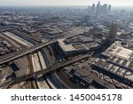 aerial view of streets ... | Shutterstock . vector #1450045178