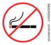 stop smoking no smoking... | Shutterstock .eps vector #1450063988