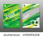 layout template design  sport... | Shutterstock .eps vector #1450096328