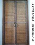 Wooden Antique Door With...