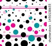 graphic beautiful seamless... | Shutterstock .eps vector #1450138655