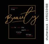 beauty graphic desing vector... | Shutterstock .eps vector #1450233488