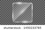 square glass frame vector.... | Shutterstock .eps vector #1450233785