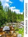 jizera river full of granite...   Shutterstock . vector #1450260032