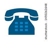 old telephone icon. logo... | Shutterstock .eps vector #1450262648