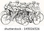 vector illustration of a group... | Shutterstock .eps vector #145026526