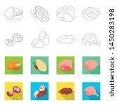 vector illustration of product...   Shutterstock .eps vector #1450283198