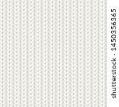 knitted vector seamless pattern.... | Shutterstock .eps vector #1450356365